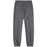 Kenzo Stretch Wool Cuffed Pant Grey