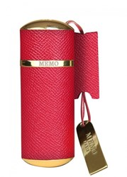 Memo Red Leather Purse Spray