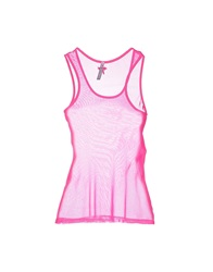 Scee By Twin Set Tank Tops Coral