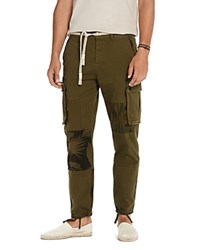 Scotch And Soda Military Printed Cargo Pants Army