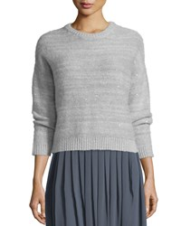 Peserico Crewneck Sweater With Sequins Women's