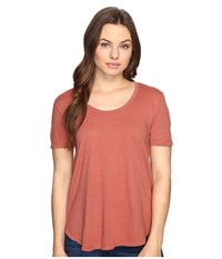 Obey Madison Scoop Neck Tee Rose Dawn Women's T Shirt Multi