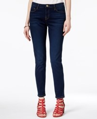 Tommy Hilfiger Greenwich Bright Blue Wash Skinny Jeans Only At Macy's Nocturnal