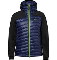 Phenix Snow Force Panelled Shell And Jersey Mid Layer Jacket Blue
