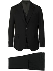 Gabriele Pasini Tailored Two Piece Suit Black