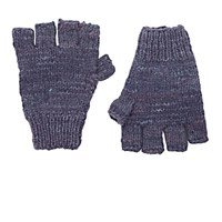 The Elder Statesman Women's Cashmere Fingerless Gloves Grey