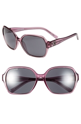 Converse 59Mm Sunglasses Grape