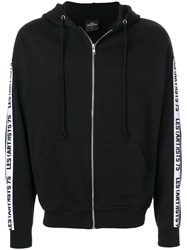 Les Artists Art Ists Zipped Hoodie Black