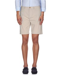 Burberry Brit Trousers Bermuda Shorts Men Beige