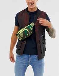 Original Penguin Bum Bag In Camo Green