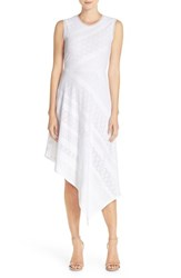 Women's Bcbgmaxazria 'Tracie' Lace Asymmetrical Dress