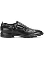 Officine Creative Princeton Monk Shoes Buffalo Leather Calf Leather Leather Rubber 41.5 Black