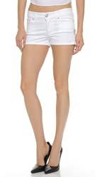 Versus Mini Jean Shorts Optical White