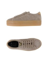 No Name Low Tops And Trainers Khaki