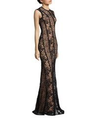 Jason Wu Corded Lace Gown Black
