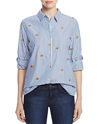 Scotch And Soda Embroidered Button Down Shirt Combo B