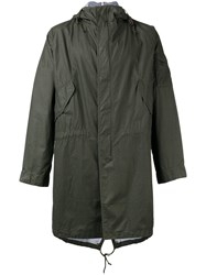 Universal Works Hooded Parka Green