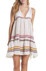 Muche Et Muchette Women's Mira Cover Up Dress Multi White
