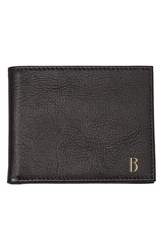 Cathy's Concepts Personalized Bifold Wallet Black