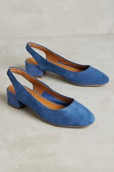 Anthropologie Lien. Do By Seychelles Electric Blue Slingbacks