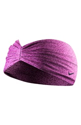 Nike 'Central' Headband Mulberry Black