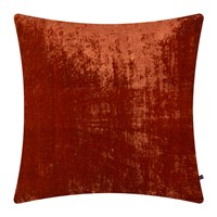 William Yeoward Paddy Velvet Cushion 50X50cm Poppy