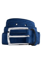 Bugatchi Men's Suede Belt Hawaii