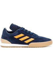 Gosha Rubchinskiy X Adidas Side Stripe Sneakers Blue