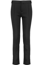 Marc By Marc Jacobs Super Skinny Cropped Stretch Twill Pants Black