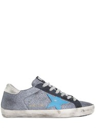 Golden Goose Super Star Glitter Sneakers