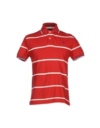 Jaggy Topwear Polo Shirts Men Brick Red