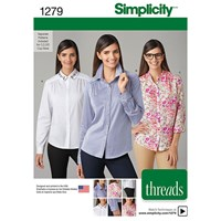 Simplicity 'S Shirt Sewing Pattern 1279