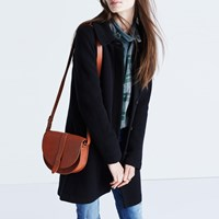 Madewell Structured Sweater Coat True Black