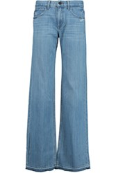 Helmut Lang Mid Rise Flared Jeans Mid Denim