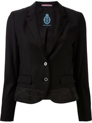 Guild Prime Camouflage Panel Blazer Black