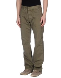 Grifoni Super Vintage Casual Pants Military Green