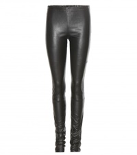 Haider Ackermann Leather Leggings Black