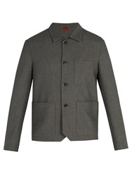 Barena Patch Pocket Blazer Grey
