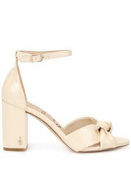 Sam Edelman Odina Knot Detail Sandals Yellow