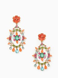 Kate Spade Garden Party Statement Earrings Multi