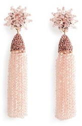 Baublebar Women's Chrysanthemum Drop Earrings Blush