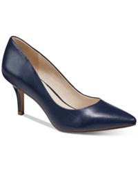 Alfani Women's Step 'N Flex Jeules Pumps Only At Macy's Women's Shoes Navy