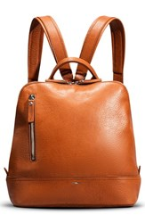 Shinola 'Mini Zip' Backpack Brown Bourbon