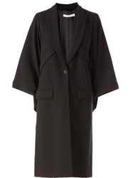 Givenchy Structured Overcoat Black