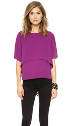 Tbags Los Angeles Short Sleeve Blouse