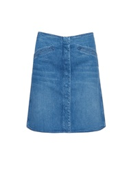 Mih Jeans The Bodiam A Line Denim Skirt