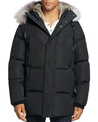 Andrew Marc New York Freezer Down Parka Jet Black