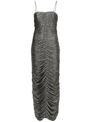 Georgia Alice Magic Dust Fitted Dress Polyester Metallic