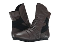 Born Dulcie Elephant Grey Full Grain Leather Women's Pull On Boots Gray
