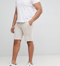 D Struct Plus Turn Up Chino Shorts Stone